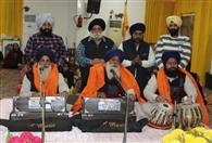 गुरुद्वारा श्री गुरु सिंह सभा, माडल टाउन संक्रांति दिवस मनाया