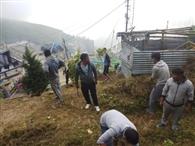 शेरपा एसोसिएशन ने सफाई अभियान चलाया