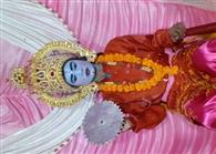 रामलीला मंचन में हुआ राम जन्म का मंचन
