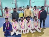नेशनल स्कूल खेलों में जिले के 15 जूडो खिलाड़ी लेंगे भाग