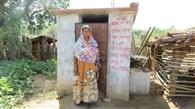 नक्सल गांव में ईंट बनाकर महिलाओं ने बनाए शौचालय