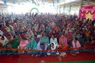 128 परिवारों को बांटा राशन