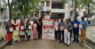 डेंगू व चिकनगुनिया के खिलाफ किया जागरूक