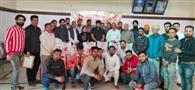 समाज सेवा सोसायटी ने 18 परिवारों को वितरित किया राशन