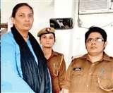 हेराफेरी का मामला : आरोपित इंस्पेक्टर लक्ष्मी की निशानदेही पर 9.85 लाख बरामद