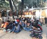 कीर्ति नगर से फर्जी इंटरनेशनल कॉल सेंटर का भंडाफोड़, 32 लोग हुए गिरफ्तार