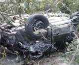 हिमाचल: पंडोह में कार नदी में गिरी, चंबा के तीन लोगों की मौत व तीन की हालत गंभीर Mandi News
