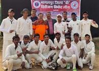 भागलपुर क्रिकेट अकादमी ने इलेवन स्टार को 81 रनों से हराया