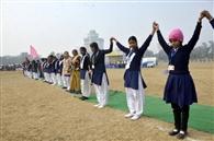 मुख्यमंत्री के साथ तुषार गांधी और राजेंद्र सिंह भी बनेंगे मानव श्रृंखला का हिस्सा
