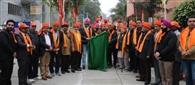 आर्य समाज व डीएवी संस्थाओं ने निकाली शोभायात्रा