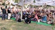किसानों व मजदूरों ने एसएसपी व डीसी दफ्तर घेरा