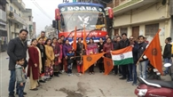 मां वैष्णो देवी के लिए पांचवीं फ्री बस यात्रा रवाना