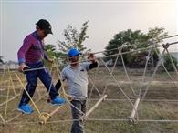 जीआइएस के एडवेंचर कैंप में रोमांचित हुए बच्चे