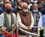 मंत्रिमंडल विस्तार पर BJP-JDU की सहमति से जुड़े सवाल पर मुस्कुराए नीतीश कुमार, दिया ये जवाब