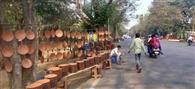 शहर के रसोई घरों में मिट्टंी के बर्तनों का बढ़ रहा क्रेज