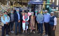 इंदौर की सफाई व्यवस्था देखने पहुंचे पार्षद और निगमायुक्त