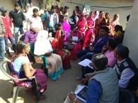 एसडीएम व डब्लूएचओ की टीम पहुंची हेरहंज गांव