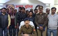 गोहत्या के आरोपितों को पुलिस व स्वाट टीम ने दबोचा