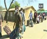 Coronavirus: वुहान से वापस लाए गए भारतीयों को मानेसर आर्मी कैंप से मिली छुट्टी