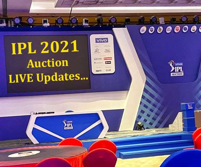 IPL 2021 Auction LIVE Updates in Hindi