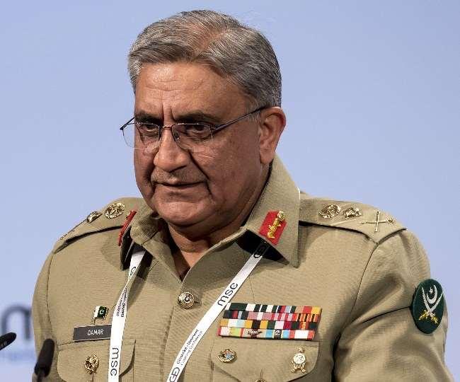 पाकिस्तान के सेना प्रमुख जनरल कमर जावेद बाजवा अब शांति का पाठ बांचने लगे हैं।