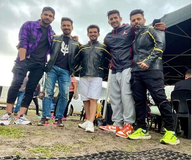 Khatron Ke Khiladi 11 : Contestants got twisted up with Abhinav Shukla's tough twister challenge watch video