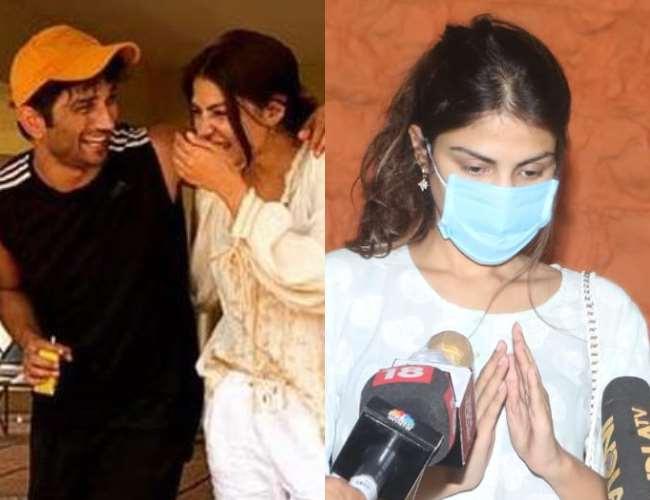 Sushant Singh Rajput Death Rumoured Girlfriend Rhea Chakraborty ...