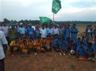फुटबॉल टूर्नामेंट में पहलारपुर बना विजेता