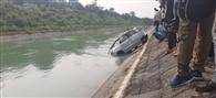 शक्तिनहर में डूबी कार बरामद, चालक लापता
