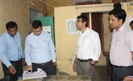 एडीएम के औचक निरीक्षण से पालिका प्रशासन में हड़कंप