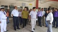 सीसीएम पैसेंजर ने किया ने किया कोडरमा स्टेशन का निरीक्षण