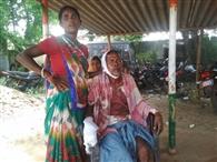 बल्लोपुर में लाठी से पीटकर वृद्ध को किया जख्मी