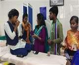 वीमेंस कॉलेज में भूख हड़ताल समाप्त, तीन छात्राएं अस्पताल में भर्ती Jamshedpur News