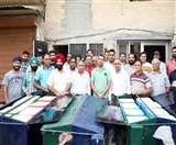 अलग-अलग देना होगा सूखा और गीला कूड़ा, सफाई कर्मचारियों को मिले रेहड़े Jalandhar News