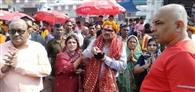 आंध्र प्रदेश के चीफ जस्टिस ने की पूजा-अर्चना