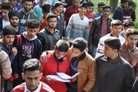 देश भक्ति के जज्बे के साथ आठ हजार ने दी एनडीए परीक्षा