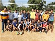 स्वांखा क्लब ने जीता जिला स्तरीय वॉलीबॉल टूर्नामेंट