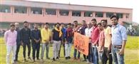 छात्र संघ चुनाव को लेकर अभाविप की बैठक