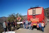 सीमांत भूठ गांव में पहली बार पहुंची बस, झूमे ग्रामीण