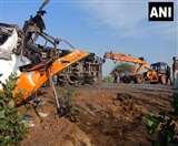 Accident in Rajasthan: बीकानेर में बस व ट्रक की भिड़ंत में 13 की मौत,18 घायल