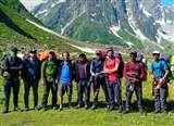 जांबाज भी हैं आइआइटी के छात्र, बारिश के बीच 4900 मीटर ऊंची पहाड़ी की फतह Kanpur News