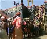 सबरीमाला मंदिर में तीर्थयात्रियों की भारी भीड़, भगवान अयप्पा के दर्शन के लिए पहुंचे 70 हजार से अधिक श्रद्धालु