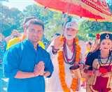 साईं मंदिर का 25वां स्थापना दिवस, दून में निकाली गई साईं पालकी यात्रा Dehradun News