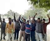 सिटी बस कर्मचारियों की अचानक हड़ताल, सांसत में फंसे लोकल यात्री Lucknow News