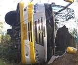 यमुनानगर में कालका से हरिद्वार जा रही श्रद्धालुओं से भरी बस पलटी, 23 लोग घायल Panipat News