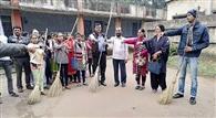 उत्तरी कर्णपुरा श्रमिक महाविद्यालय में स्वच्छता पखवाड़ा की शुरूआत