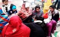 ससुराल में कहासुनी पर पत्नी की किरच मार हत्या की