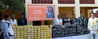 जरूरतमंद 411 बच्चों को जूते, जुराबें व स्वेटर किए वितरित
