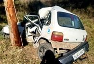पेड़ से टकराई कार, 20 वर्षीय युवक की मौत