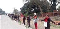 जयनगर में गांव से लेकर सीमा तक हजारों लोगों ने पर्यावरण बचाने का लिया संकल्प